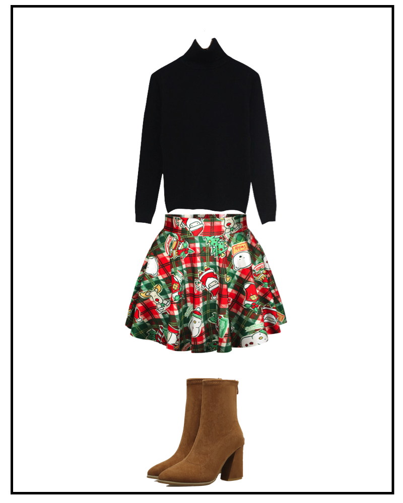 Ugly Christmas Skirt Ideas.How To Rock Your Ugly Christmas Sweater Luulla